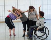 Candoco Dance Company, Dancer Development Day, Roehampton Uni